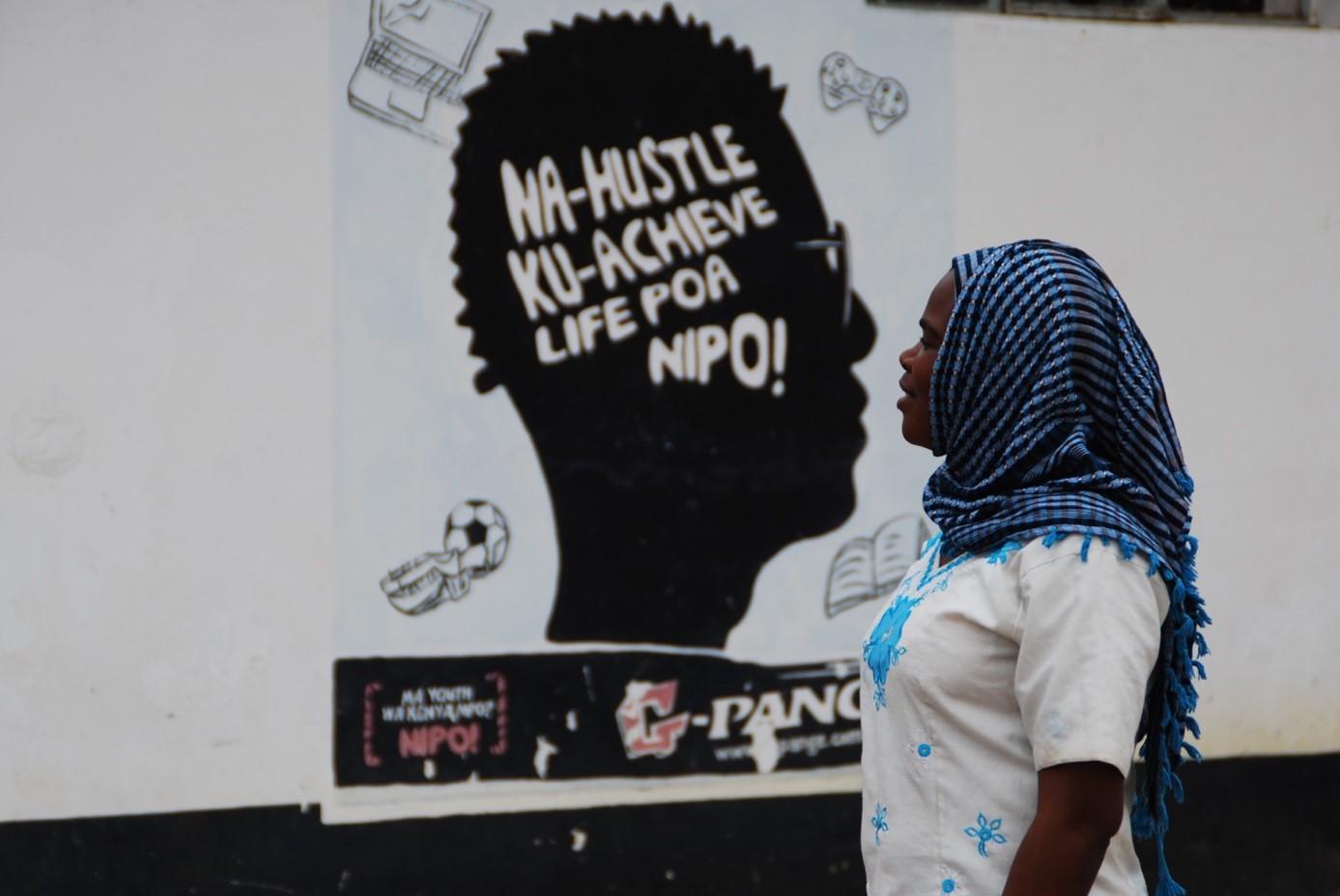 Na-Hustle Ku-Achieve Life Poa Nipo!